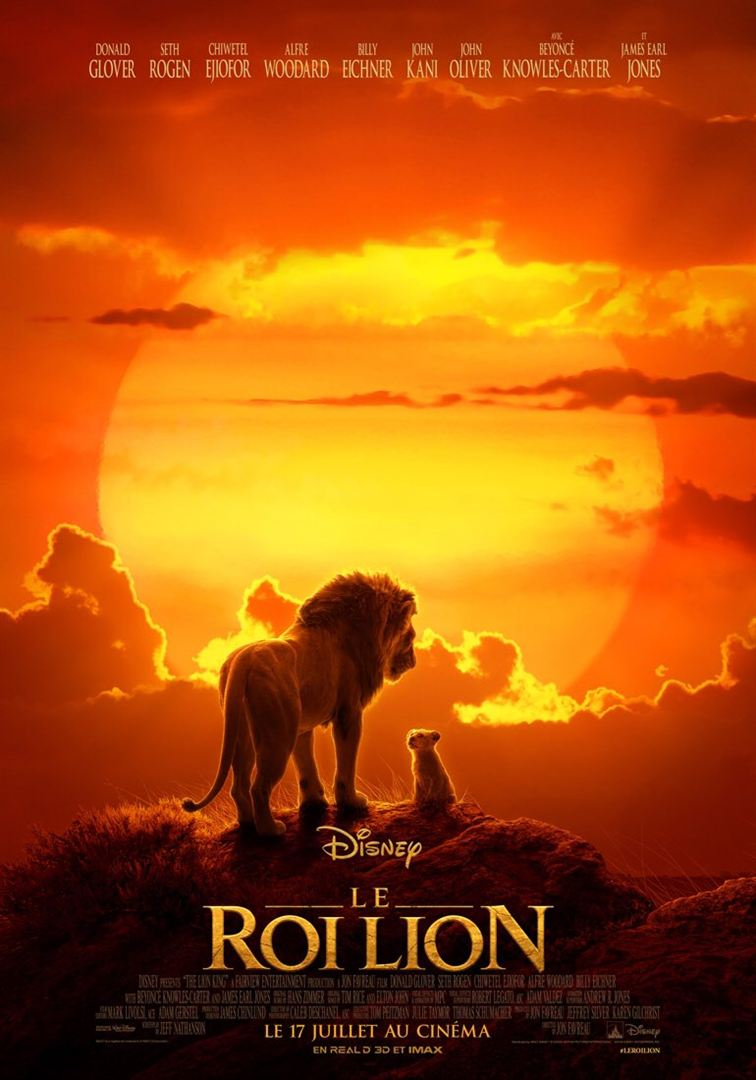 Le Roi Lion – adaptation filmique